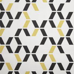 tissu vintage 1930 jaune gris noir mati re motif pinterest tissu vintage jaune et tissu. Black Bedroom Furniture Sets. Home Design Ideas
