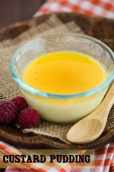 Custard Pudding | JustOneCookbook.com