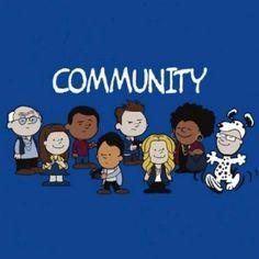 Community Charlie brown snoopy