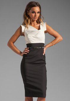Jackie O Two Tone Dress - Lyst Clothing Items 92f0b8719