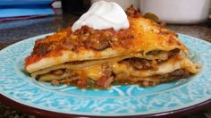 """The Virtuous Wife: Mexican Lasagna """"Dolly Parton"""" (FREEZER MEAL)"""
