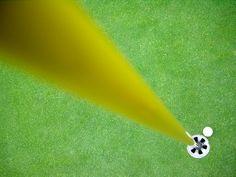 the golf abstraction by ~xokolatecake