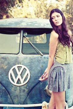 VW T1 girl
