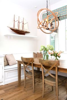breakfast nook | ASD Interiors