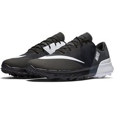 Check out what #lorisgolfshoppe has for your days on and off the golf course: Black/White/Anthracite Nike Ladies FI Flex Golf Shoes #golfcourse