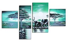 Muzagroo Art Oil Paintings Africa Elephants Family Walking Hand Painted on Canvas Wall Decor Home PCS ** See this great product. (This is an affiliate link) Canvas Wall Decor, Home Wall Decor, Canvas Frame, Canvas Art, Jesus Painting, Oil Painting On Canvas, Nature Paintings, Oil Paintings, Elephant Pictures