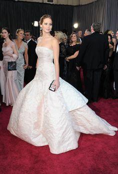 Jennifer Lawrence #Oscars2013 #RedCarpet