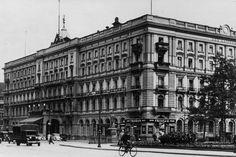Berlin 1928 Das Hotel Kaiserhof am Wilhelmplatz Vintage Architecture, Classical Architecture, Berlin Hotel, Underground World, The Second City, Das Hotel, Kaiser, Beautiful Buildings, Retro