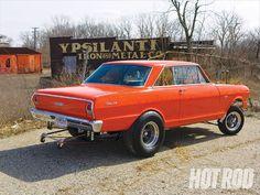 1963 Chevrolet Nova Rear View