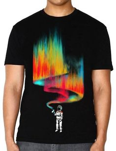 INTO THE AM Space Vandal Rave Shirt