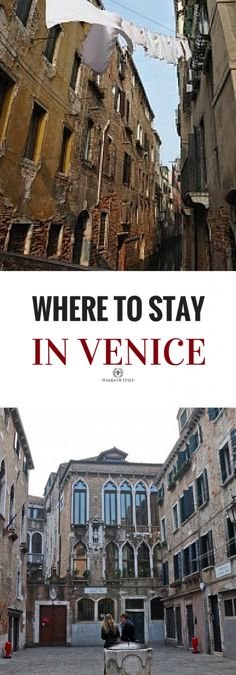 Venice is full of beautiful of Sestiere or neighborhoods. Choose the right one with our guide on where to stay in venice.