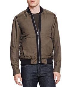 The Kooples Technical Taffetas Jacket