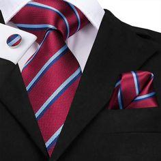 Classic Purple Floral Mens Ties Cotton Necktie Set Wedding Party Formal SN-1371