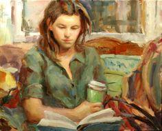 No café, 2008 Jerry Salinas ( EUA, 1967) 50 x 40 cm Jerry Salinas