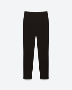 Image 8 of HIGH-WAIST TROUSERS from Zara