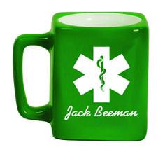 Ceramic Mugs - Square 8oz - EMS Personalized