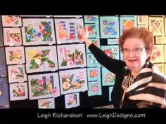Leigh Richardson of Leigh Designs introduces her Caribé series of 16 new handpainted needlepoint designs.