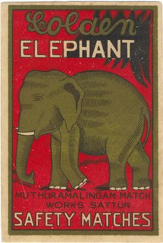 #elephant #matchbook