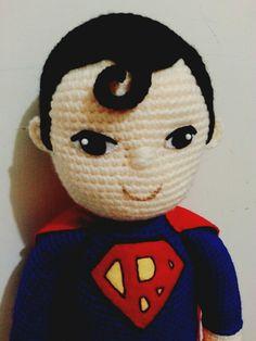 superman amigurumi #superman #crochetdoll
