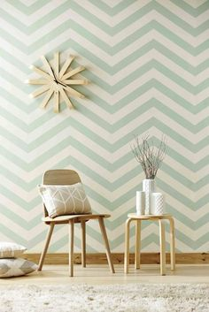 Geometric vinyl wallpaper, self adhesive, temporary, removable nursery MB076 | Home & Garden, Home Improvement, Building & Hardware | eBay!
