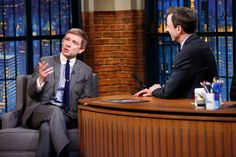 Martin on Late Night with Seth Meyers (12-8-14)