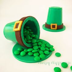 Hungry Happenings: Candy Leprechaun Hats filled with Sweet Surprises for St. Patrick's Day
