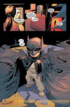 Damian Wayne (this kills me inside). Batman's son!!