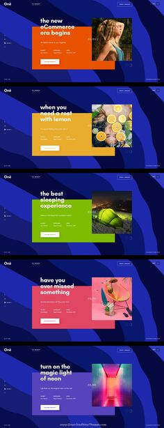 Onne is clean and modern design multipurpose PSD template for creative agency #website with 21+ niche homepage layouts and 54 layered PSD files to live preview & download click on Visit  #psdmockups