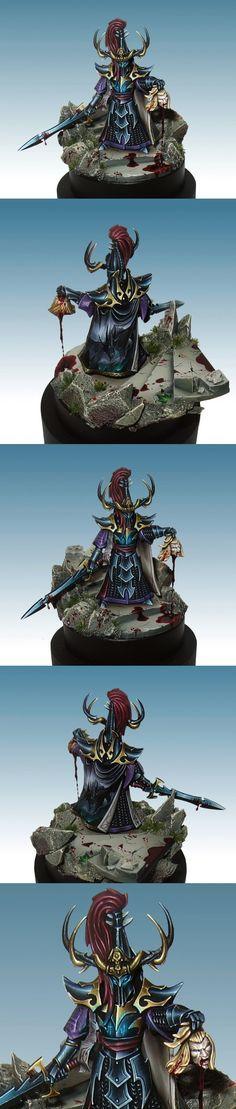 Dark Elf Witch King - Lan Studio