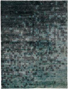 Clarksdale Hand Knotted Tibetan Rug from the Tibetan Rugs 1 collection at Modern Area Rugs Carpet Tiles, Carpet Flooring, Rugs On Carpet, Textiles, Hotel Carpet, Tibetan Rugs, Coastal Rugs, Rug Inspiration, Fabric Rug