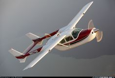"""Cessna 337 - the beautiful and unique push/pull twin that got an unfortunate reputation as a """"hanger queen"""" because of early mechanical issues and the fact that the introductory models were underpowered. Cessna Aircraft, Cessna 210, Aviation Magazine, Bush Plane, Private Plane, Private Pilot, Civil Aviation, Aviation Art, Aircraft Pictures"""