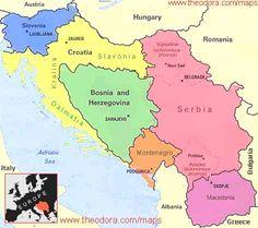 Yugoslavia Map Europe