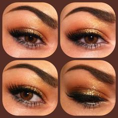 Gold and silver eye makeup @Abbey Adique-Alarcon Adique-Alarcon Adique-Alarcon Adique-Alarcon