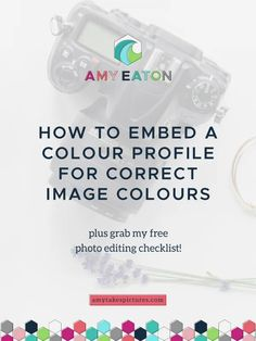 How To Make Sure That Colours Look Right In Your Etsy Product Photos. Tips for handmade and etsy creative sellers >> Amy Eaton Light Photography, Photography Tips, Product Photography, Editing Checklist, Etsy Business, Business Tips, Color Profile, Business Inspiration, Handmade Shop