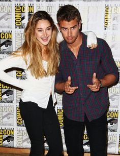 Shailene and theo are they dating gaby