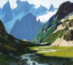 Environment Painting, Old Master, Landscape Paintings, Museum, Mountains, Drawings, Travel, Inspiration, Selection
