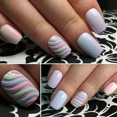 best Ideas for nails design spring glitter pretty pastel Diy Nails, Cute Nails, Sugar Nails, Pastel Nails, Nail Decorations, Fabulous Nails, Beautiful Nail Art, Creative Nails, Trendy Nails