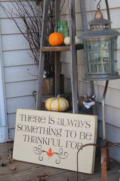 There's always something to be Thankful for by Wildoaks on Etsy