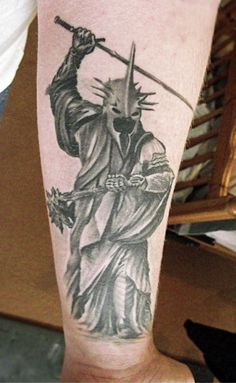 1337tattoos — piercingsandink: Witch King of Angmar, from The...