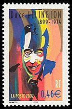 Duke Ellington 1899-1974 Étoiles du Jazz - Timbre de 2002