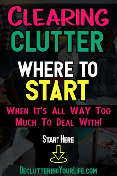 Cleaning hacks tips and tricks for clutter organization, clutter control and clutter SOLUTIONS - home organization ideas on a budget for decluttering your home room by room when feeling overwhelmed by clutter! Speed Cleaning, Deep Cleaning Tips, Cleaning Hacks, Clutter Organization, Home Organization Hacks, Organizing Ideas, Decluttering Ideas, Organising, Simple Life Hacks