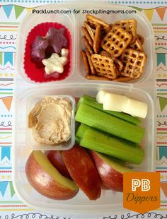 3 for 3 Lunch Challenge :: Lunchbox Ideas