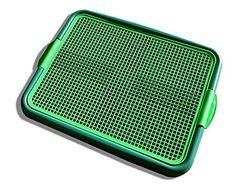 Klean Paws Puppy Pad Holder - Keeps Paws Dry - No Torn Pads - Protects Floors - Save Money - Green The Klean Paws Indoor Potty is one of Amazon's BEST SELLING pee pads tray that prevents chewed Read  more http://dogpoundspot.com/klean-paws-puppy-pad-holder-97e28f-no-torn-pads-97e28f-save-money-97%8f-green/  Visit http://dogpoundspot.com for more dog review products