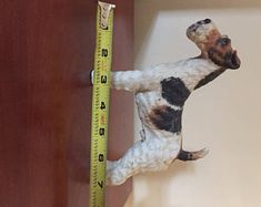 Figurine de fil fox terrier #7733