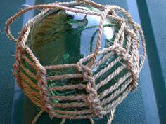Glass Float net knitting (Norwegian)