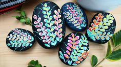easy painted rocks f