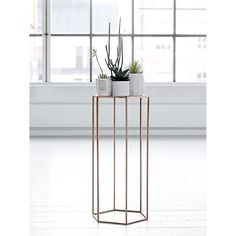Plinth side table copper – Bloomingville #interior #design