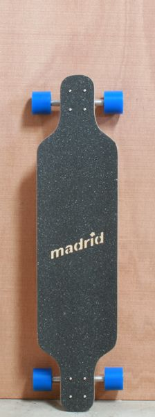 "Madrid 39"" Folded Longboard Complete"