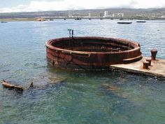 Pearl Harbor Oahu. I remember the goosebumps that came over me standing in the memorial knowing all the fallen below my feet.
