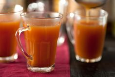 Mulled Apple Cider Black pepper adds an unexpected kick to this cider recipe.